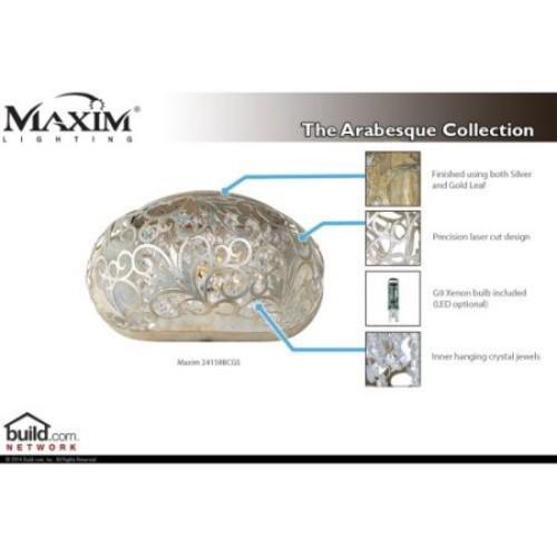 Maxim 24158 Arabesque Single Light 4-3/4