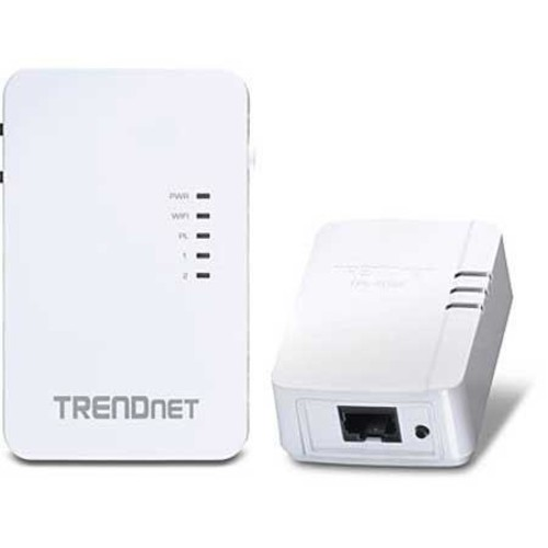 TRENDnet Powerline 500 AV Kit with Wi-Fi Extender, TPL-410APK