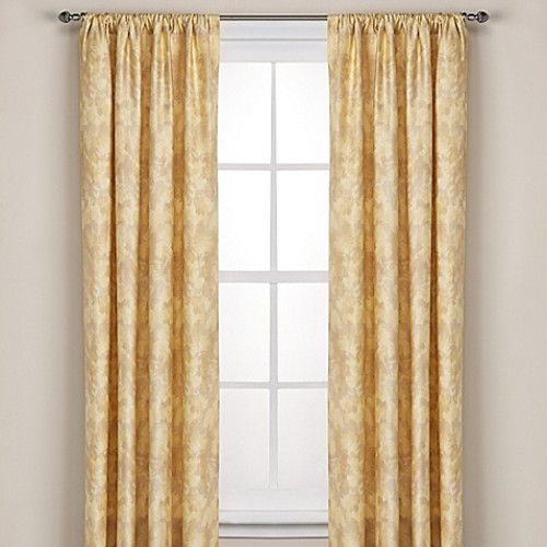Kenneth Cole Reaction Home Falling Petals 84-Inch Window Curtain Panel