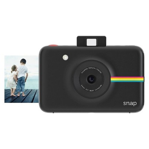 Snap Instant Digital Camera with Paper Kit (Black)