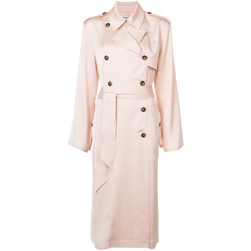 ELIZABETH AND JAMES Double Breasted Duster Coat