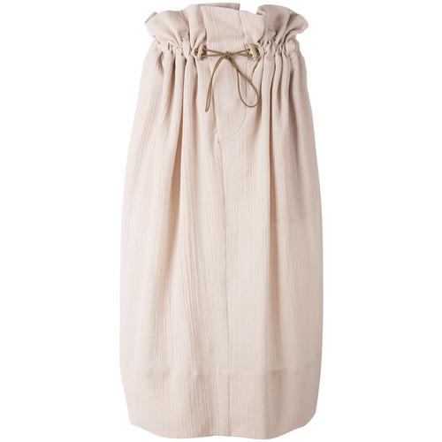 STELLA MCCARTNEY Cinched Straight Skirt