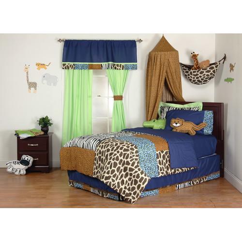 One Grace Place Jazzie Jungle Twin Comforter