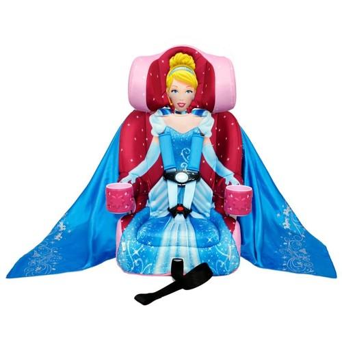 KidsEmbrace Disney Combination Harness Booster Car Seat - Cinderella