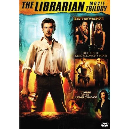The Librarian Movie Trilogy [2 Discs] [DVD]