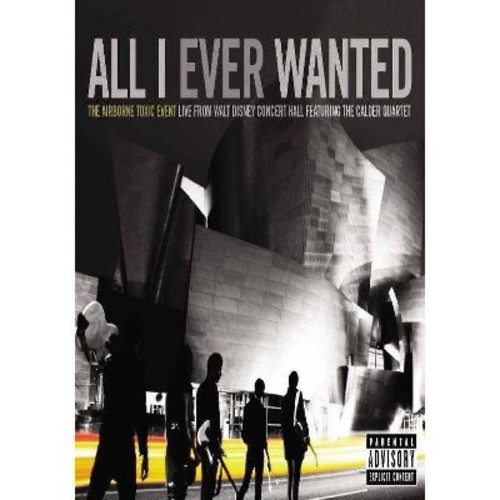 The Airborne Toxic Event: All I Ever Wanted - Live from the Walt Disney Concert [Blu-ray] DD5.1