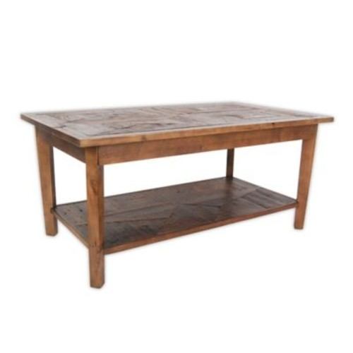 Revive Reclaimed Wood Coffee Table with Natural Finish