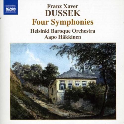 Franz Xaver Dussek: Four Symphonies [CD]