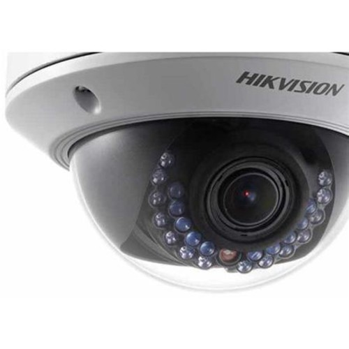 Hikvision DS-2CD2722FWD-IZS - Network surveillance camera - dome - outdoor - color (Day&Night) - 2 MP - 1920 x 1080 - 1080p - f14 mount - vari-focal - audio - LAN 10/100 - MJPEG, H.264 - DC 12 V / PoE