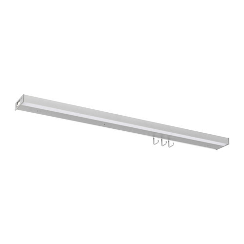 UTRUSTA LED countertop light, aluminum color