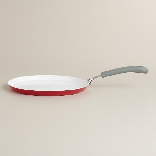 Red Crepe Pan