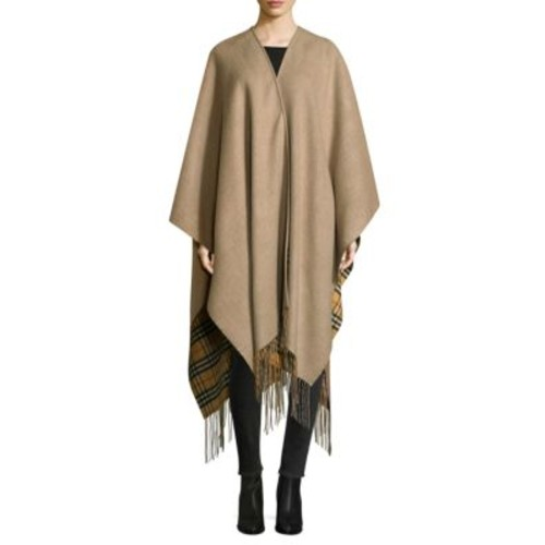 BURBERRY Cashmere And Wool Poncho