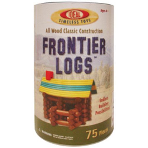 POOF-Slinky Frontier Logs 75-Pkg Case of 1