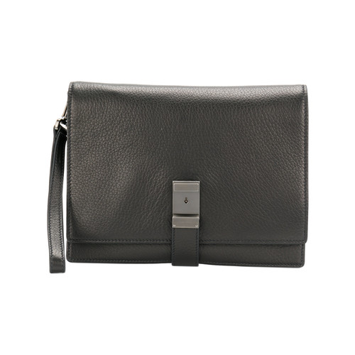 classic buckled clutch bag
