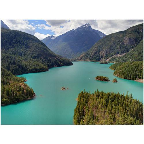 Trademark Fine Art 'Diablo Lake' 30
