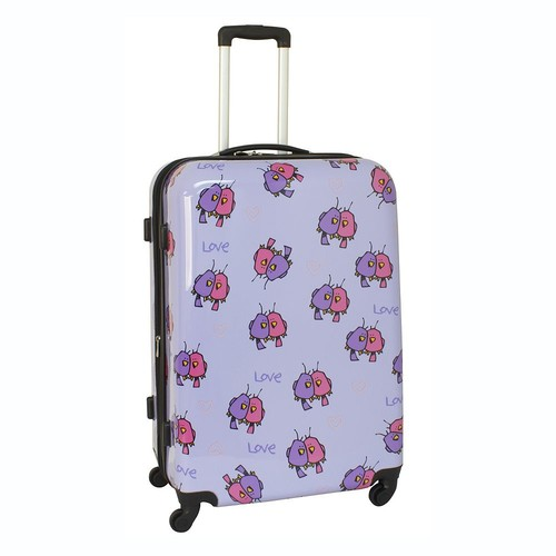 Ed Heck Love Birds 28-Inch Hardside Spinner Luggage