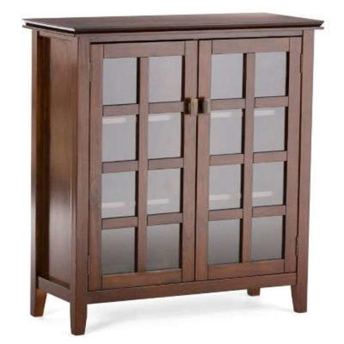 Simpli Home Artisan Medium Auburn Brown