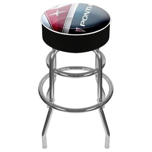 Trademark Global Pontiac Padded Swivel Bar Stool