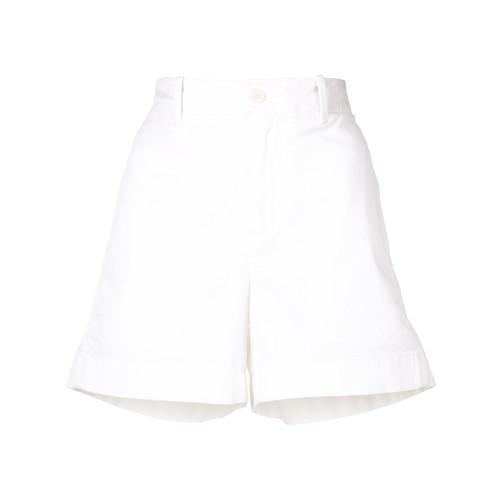 VINCE High-Rise Mini Shorts