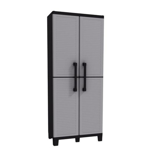 Keter Space Winner 67.32 in. H x 26.77 in. W x 14.96 in. D Resin Tall Cabinet