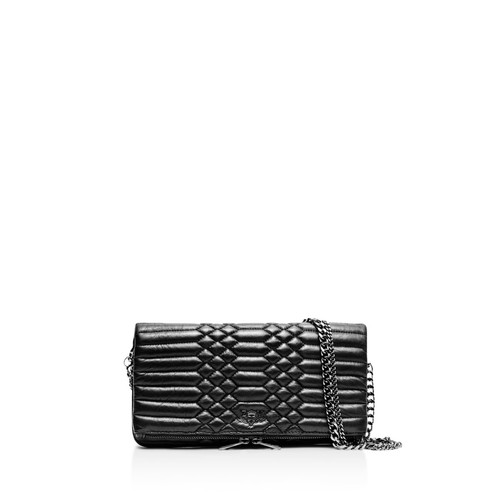 ZADIG & VOLTAIRE Rock Scales Quilted Leather Crossbody