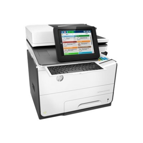 HP Inc. PageWide Enterprise Color Flow MFP 586z - Multifunction printer - color - page wide array - 8.5 in x 14 in (original) - A4/Legal (media) - up to 50 ppm (copying) - up to 50 ppm