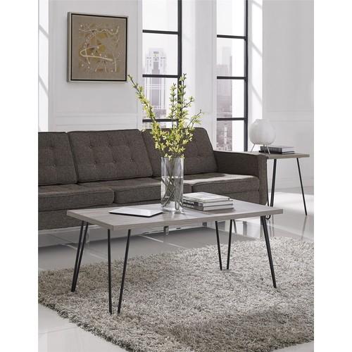 Ameriwood Home Owen Retro Coffee Table - Distressed Gray