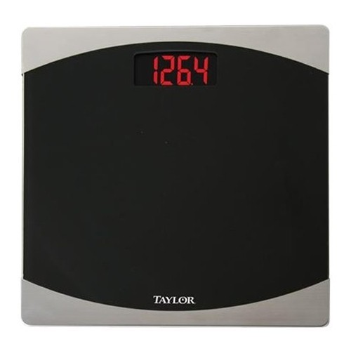 Taylor - Digital Bathroom Scale - Black