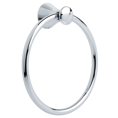 Franklin Brass 139567 Somerset Bath Hardware Accessory Towel Ring, Polished Chrome [Towel Ring]