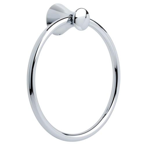 Franklin Brass 139567 Somerset Bath Hardware Accessory Towel Ring, Polished Chrome [Polished Chrome, Towel Ring]