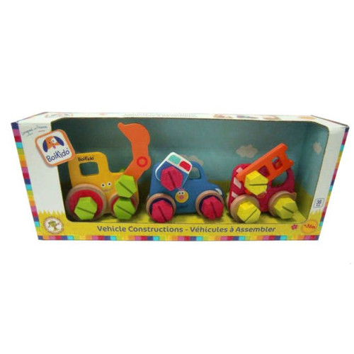 Boikido Wooden Vehicle Constructions Set