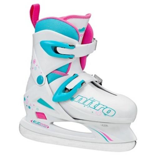 Lake Placid Nitro 8.8 Girls Adjustable Figure Ice Skate Medium