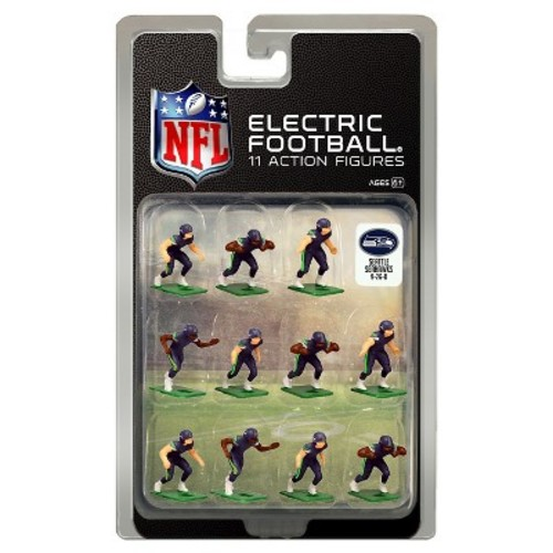 Tudor Games Seattle Seahawks Dark Uniform NFL Action Figure Set