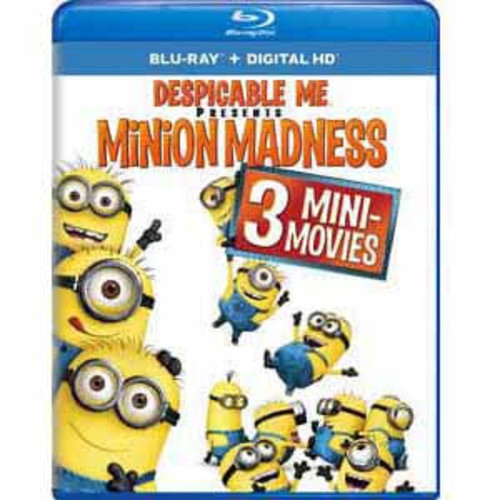 Despicable Me Presents: Minion Madness [Blu-Ray] [Digital HD]