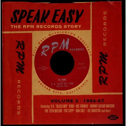 Speak Easy: The RPM Records Story, Vol. 2 [CD]