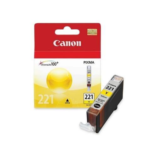 Canon CLI-221Y Yellow Ink Cartridge CNMCLI221Y