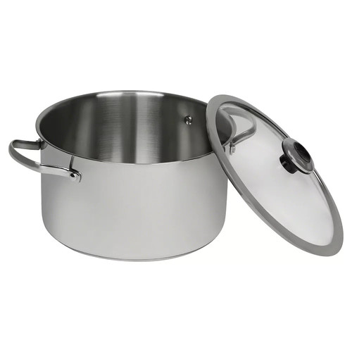 Revere Copper Confidence Core 6.5-qt. Stainless Steel Stockpot with Lid