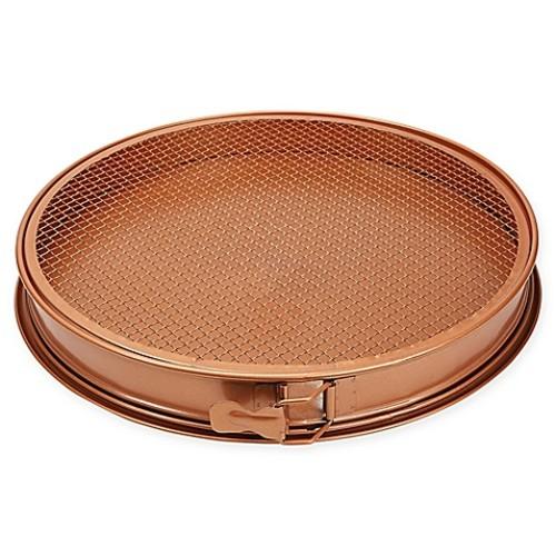 Copper Chef 3-Piece 12-Inch Perfect Pizza & Crisper Pan Set