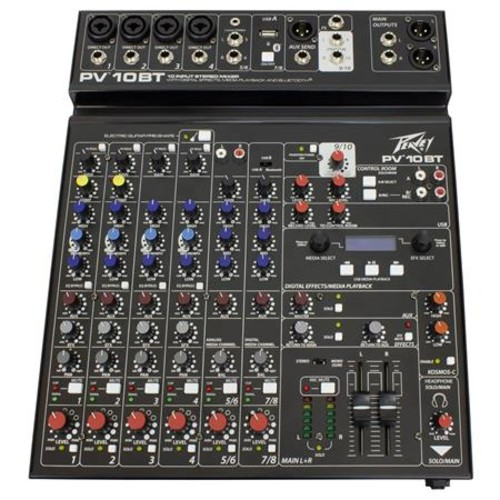 Peavey PV 10 BT Pro Audio Mixer with Bluetooth 03612790
