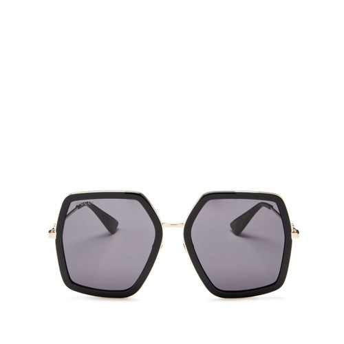 GUCCI Oversized Square Sunglasses, 56Mm