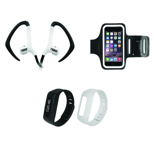 Naxa Three-in-One Bluetooth Fitness Combo