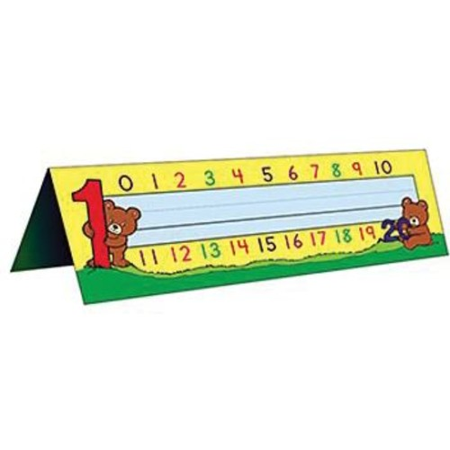 Teacher Created Resources Infant - 1st Grades Name Plate, Alphabet/Numbers Tented