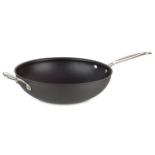 Cuisinart Chef's Classic Nonstick Hard-Anodized Stainless Steel 12.5-in. Stir Fry Pan