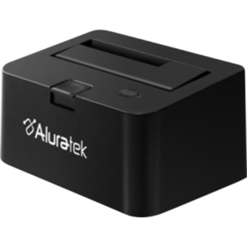 Aluratek SuperSpeed USB 3.0 2.5-Inch/3.5-Inch SATA Hard Drive Docking Enclosure AHDDU200F