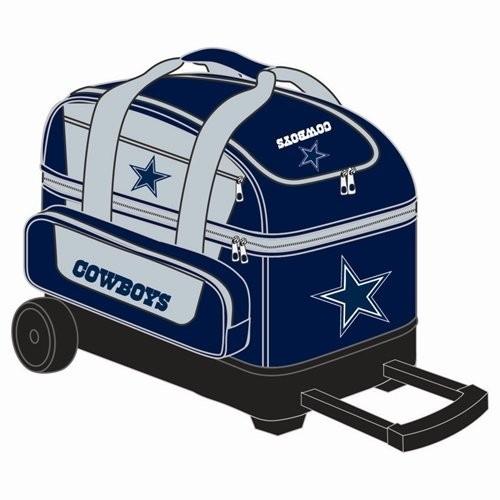 NFL Double Roller Bowling Bag- Dallas Cowboys