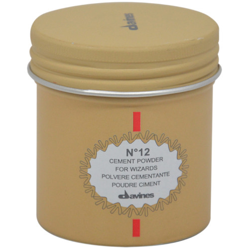 Davines No.12 Cement Powder for Wizards 0.53-ounce Styling Product