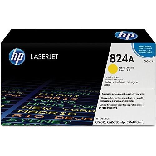 HP 824A (CB386A) Yellow Original LaserJet Drum For HP Color LaserJet CP6015, CM6030, CM6040