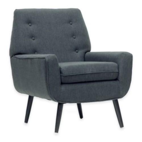 Baxton Studio Levison Modern Accent Chair in Grey