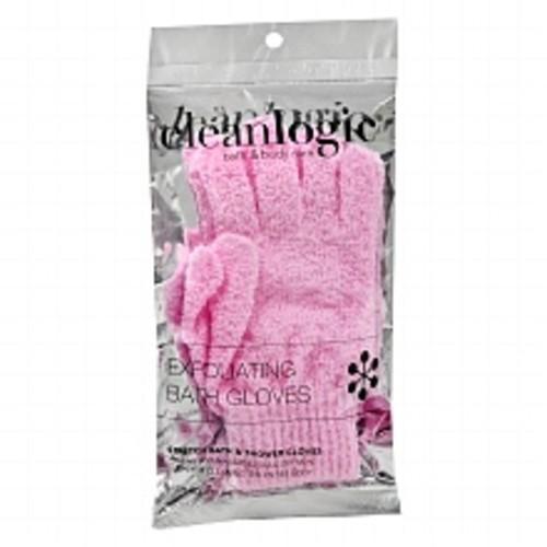 Cleanlogic Exfoliating Bath Gloves