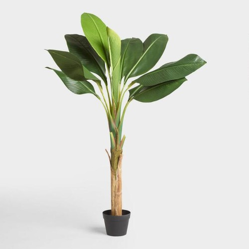 Faux Single Stalk Banana Tree